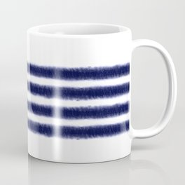 Indigo Stripes Coffee Mug