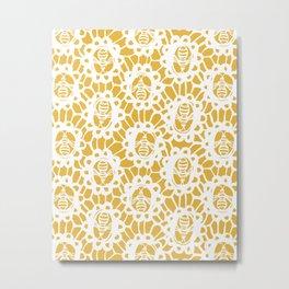 Bee Charmer Metal Print