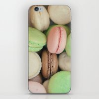 macaroons iPhone & iPod Skins featuring French Macaroons by Laura Ruth