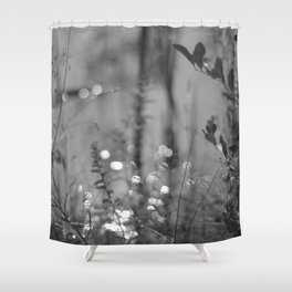 Summer Afternoon by the Pond in New Hampshire Shower Curtain