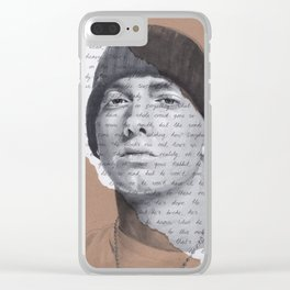 Lose Yourself Clear iPhone Case