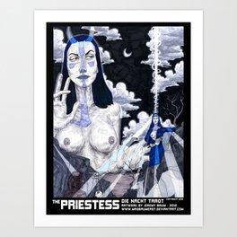 THE PRIESTESS Art Print
