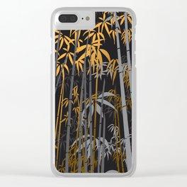 Bamboo XI Clear iPhone Case