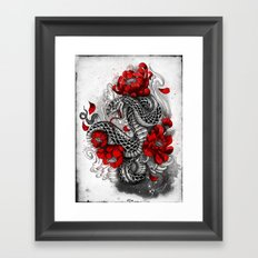 hebi Framed Art Print
