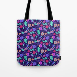 Tropical Midnight Tote Bag