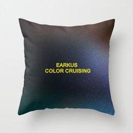 Color Cruising Throw Pillow