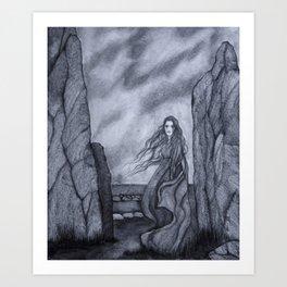 Banshee Art Print