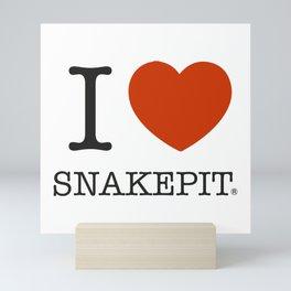 I <3 Snakepit Mini Art Print