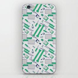 Murder pattern Green iPhone Skin