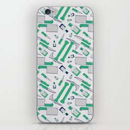 Murder pattern Green iPhone Skin