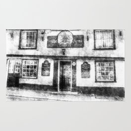 The Coopers Arms Pub Rochester Vintage Rug