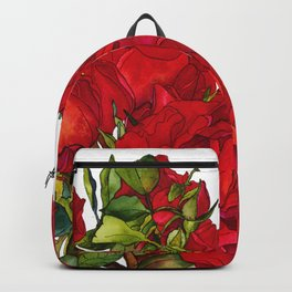 Rose Red Backpack