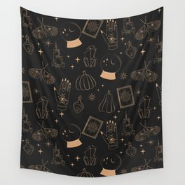 Mystical Halloween Wall Tapestry
