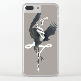 Anxiety (White Variant) Clear iPhone Case