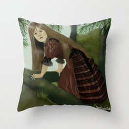 Serafina Into the Woods Throw Pillow