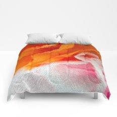 Pink and orange Comforters
