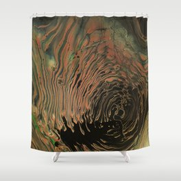 Universe of Souls - Panel 2 Shower Curtain