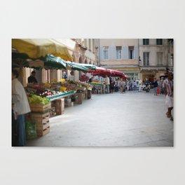 Market 6 Canvas Print