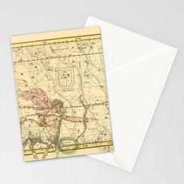 Vintage Sagittarius Constellation Map (1822) Stationery Cards