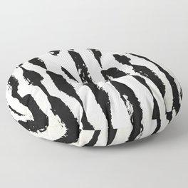 Tribal Paint Stripes Floor Pillow