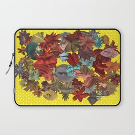 Harmonic Flowers Laptop Sleeve