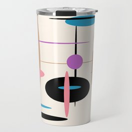 Candys Atomic Retro Design Travel Mug