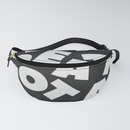 Be A Creator Not A Critic - Typography Fanny Pack