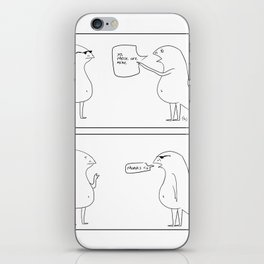 lized banter. iPhone Skin
