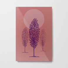 rosa di sera Metal Print