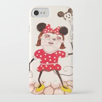 minnie iPhone & iPod Cases featuring Minnie  by ZarsStudio