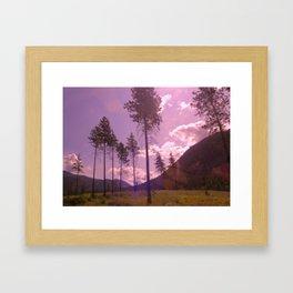 Vagabond Land Framed Art Print