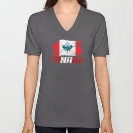Canada Nation Unisex V-Neck