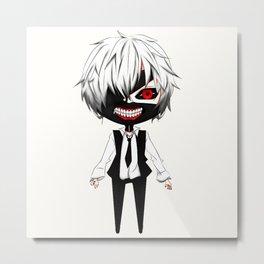 Kaneki Ken Chibi Nice3 - TOkyo Ghoul Metal Print