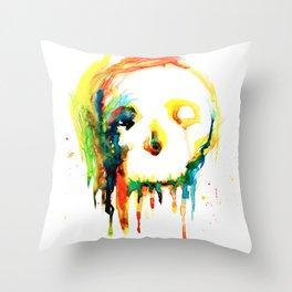 Happy/Grim Throw Pillow