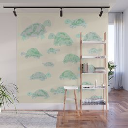 turtle mania Wall Mural
