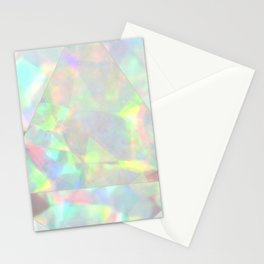 Milky White Opal Stationery Cards