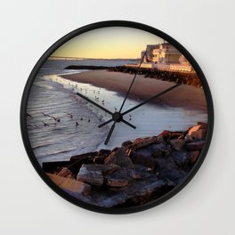 By the shore (New Jersey) Wall Clock