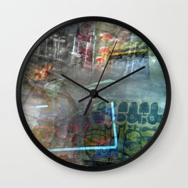 City Native  Wall Clock