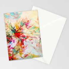 Abstract Autumn 2 Stationery Cards