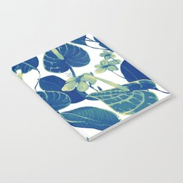 pure blue nature Notebook