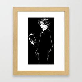 Kuroro Lucifer HunterXHunter Framed Art Print