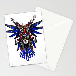 Mecha Owl Stationery Cards