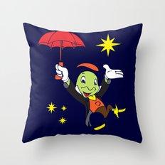 Jiminy Cricket Throw Pillow