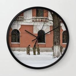 Winterworks Wall Clock