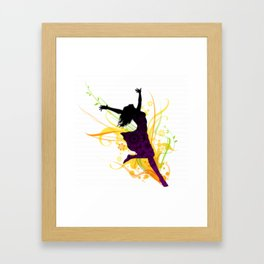 Dancing to Life Framed Art Print