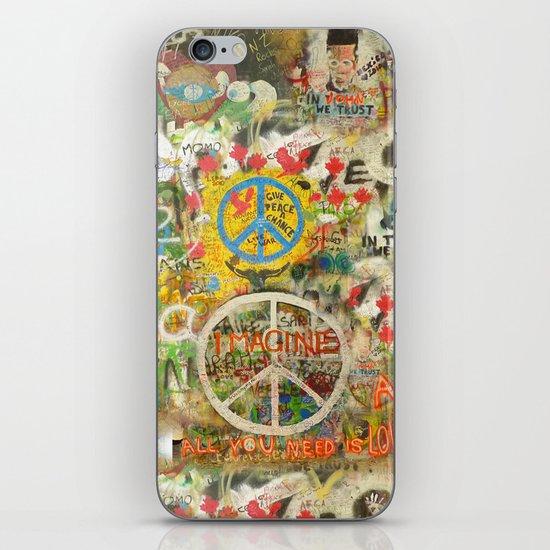 Peace Sign - Love - Graffiti iPhone & iPod Skin