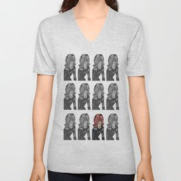 Monkey See, Monkey Don't Unisex V-Neck
