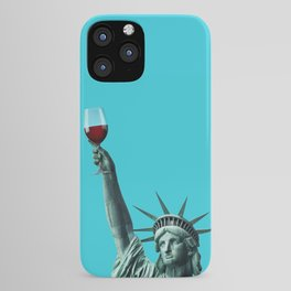 Liberty of drinking iPhone Case