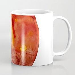 Orange Crush Agate Watercolor Coffee Mug