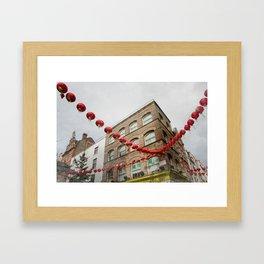 chinatown london 004 Framed Art Print